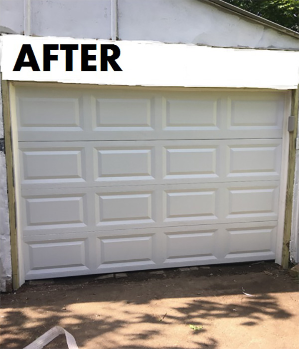 Single Car Garage - After
