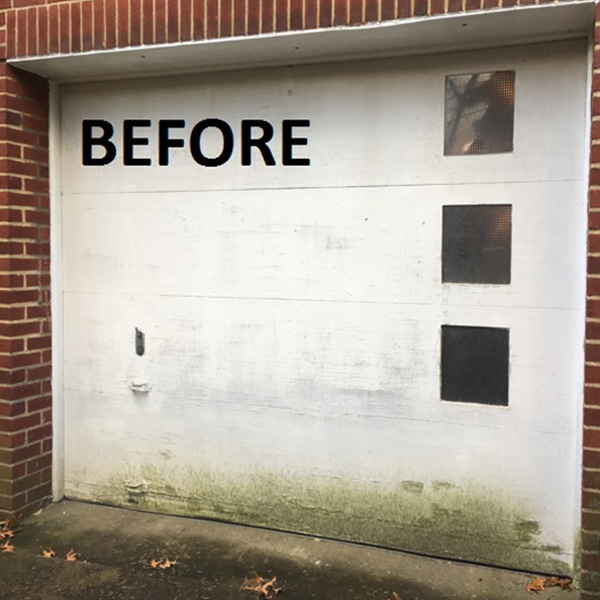 Single Garage - Before