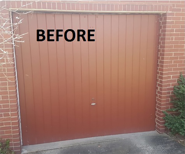 Single Door Garage - Before
