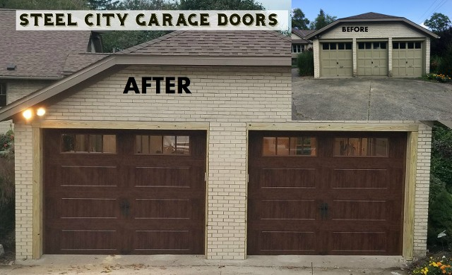 Three Door Conversion to Two Door Garage