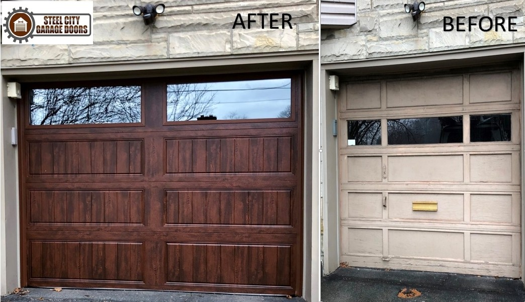 Single Garage After & Before