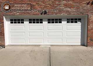 Steel City Garage Doors 2 Single Garage Doors to One Double After